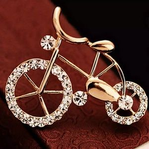 Jewelry - DIVA FASHION DAINTY BICYCLE BROOCH NEW